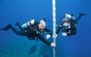 Curso de buceo profundo en Tarragona